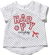 M&Co Happy sequin t-shirt