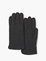 John Varvatos Cashmere and Shearling Gloves