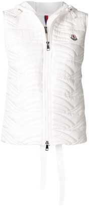 Moncler Hooded Quilted Padded Gilet