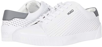 HUGO BOSS Zero Tenn Sneakers (Light/Pastel Grey) Men's Shoes