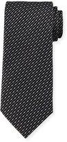 Giorgio Armani Dot & Slash Neat Printed Tie