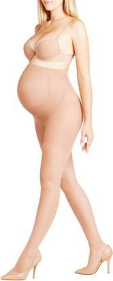 Falke Women 9 Months 20 DEN Tights - Sheer Matt Yellow (Sun 4099) S-M 1 Pair