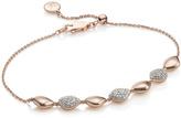 Monica Vinader Nura Teardrop Mix Link Bracelet
