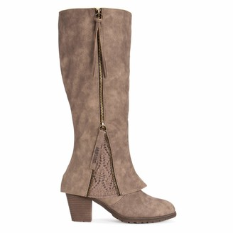 Muk Luks Women's Lacy Boots - Taupe 10