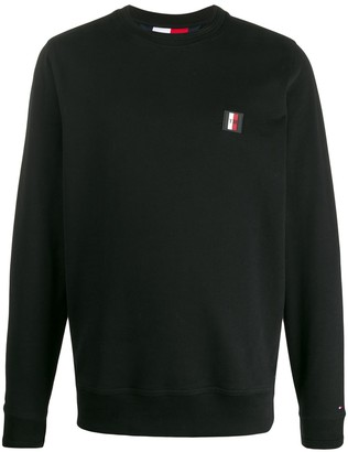 Tommy Hilfiger logo patch sweatshirt