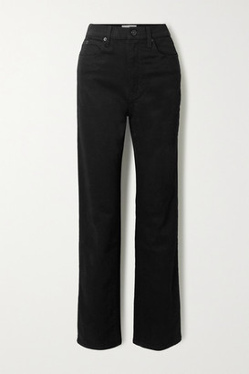 SLVRLAKE London High-rise Straight-leg Jeans - Black