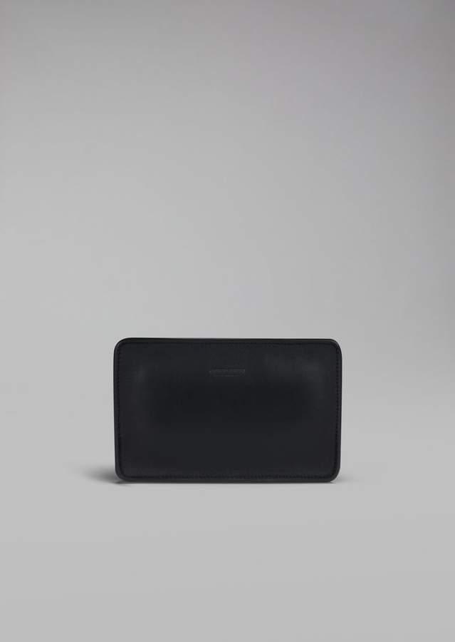 Giorgio Armani Smooth Leather Money Bag