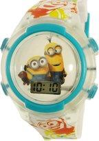 Disney Girl's Minions MINSKD078FL Multicolor Plastic Quartz Fashion Watch