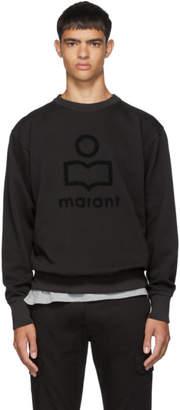 Isabel Marant Black Faded Mikeli Sweatshirt
