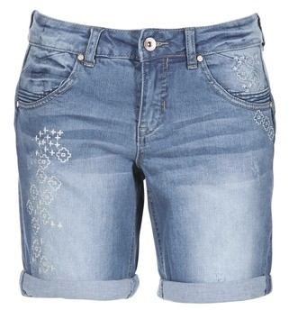 Cream FREYA women's Shorts in Blue