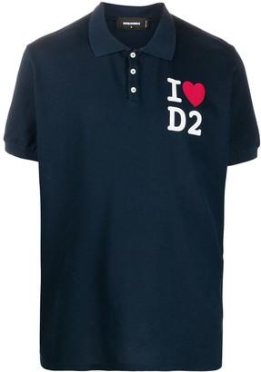 DSQUARED2 I Love D2 polo shirt