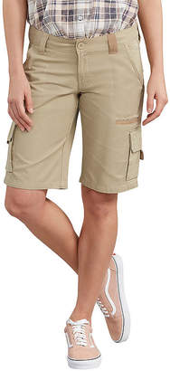 Dickies Womens Mid Rise Stretch 11 Cargo Short