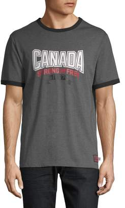 Canadian Olympic Team Collection Canada Strong and Free Tee