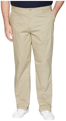 Dockers Big Tall Washed Khaki Flat Front (Ridley Khaki) Men's Casual Pants