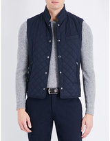Ralph Lauren Purple Label Diamond-quilted Shell Gilet