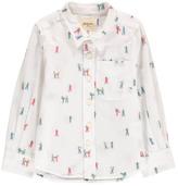 Bellerose Sale - Ganix Embroidered Slim Fit Shirt