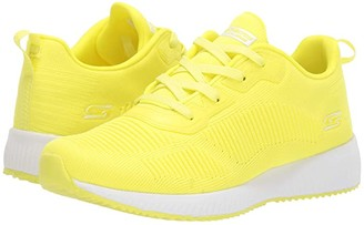 BOBS from SKECHERS Bobs Squad - Glow Rider (Neon Yellow) Women's Shoes