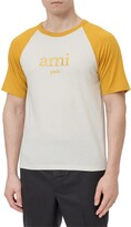 Thumbnail for your product : Ami Logo Embroidered Crewneck T-Shirt