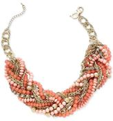 Thalia Sodi Chain-Link Statement Necklace, Only at Macy's