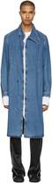 J.W.Anderson Indigo Denim Coat