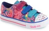 Skechers 'Twinkle Toes - Shuffles' Sneaker (Toddler & Little Kid)