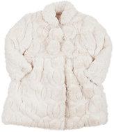 Isabel Garreton Faux-Fur Coat & Bonnet-PINK