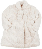 Isabel Garreton FAUX-FUR COAT & BONNET
