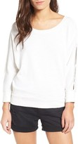 Splendid Women's Split Sleeve Sweatshirt