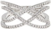 Accessorize Platinum Phoebe Sparkle Ring