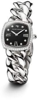 David Yurman Albion 23Mm Stainless Steel Quartz Timepiece With