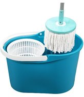 MOP Spin & Go Pro Touchless 360 Degree Rotating with Spin Cycle System & Bucket