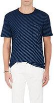 Rag & Bone Men's James Striped Cotton T-Shirt