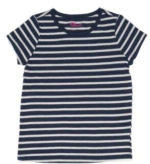 Epic Threads Little Girls Short Sleeve Striped Basic Tee