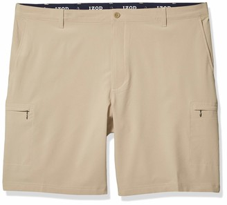 Izod Men's Big & Tall Big and Tall Golf Swingflex Cargo Short
