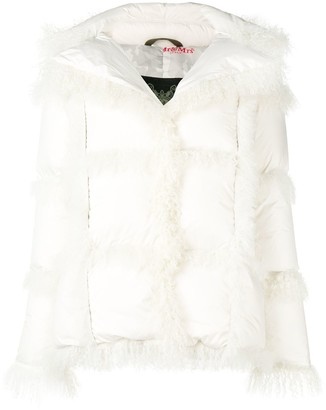 Mr & Mrs Italy hooded down jacket