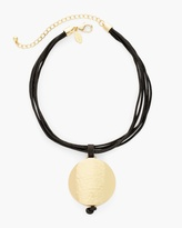 Chico's Cailyn Short Pendant Necklace