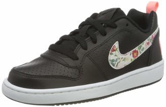 Nike Girls Court Borough Low Vf (gs) Basketball Shoes