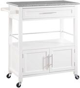 Linon Cameron Kitchen Cart With Granite Top