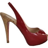 Christian Louboutin Patent leather sandal