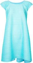 Issey Miyake trapeze dress - women - Polyester - 3