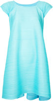 Issey Miyake trapeze dress - women - Polyester - 5