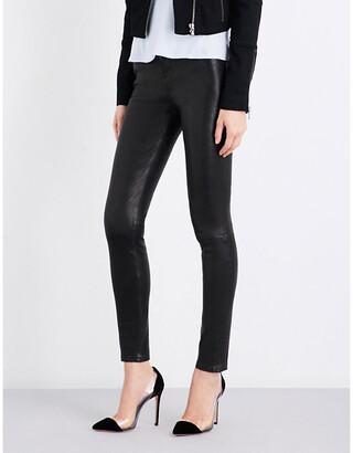 J Brand Maria skinny leather jeans