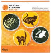 Martha Stewart Martha Animal Masquerade Cake Stencils 4/pkgnew