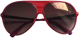 Christian Dior Pink Plastic Sunglasses