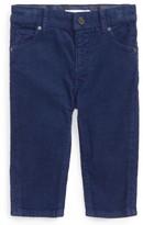 Burberry Infant Boy's Langston Corduroy Skinny Pants