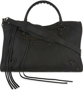 Balenciaga Classic City Arena grained leather shoulder bag