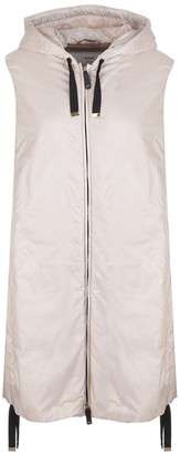 Max Mara Smoke White Greengi Vest