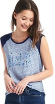 Gap Embroidered logo muscle tank