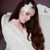 Lov Lov Delicate Silk Flowers Wedding Hair Comb
