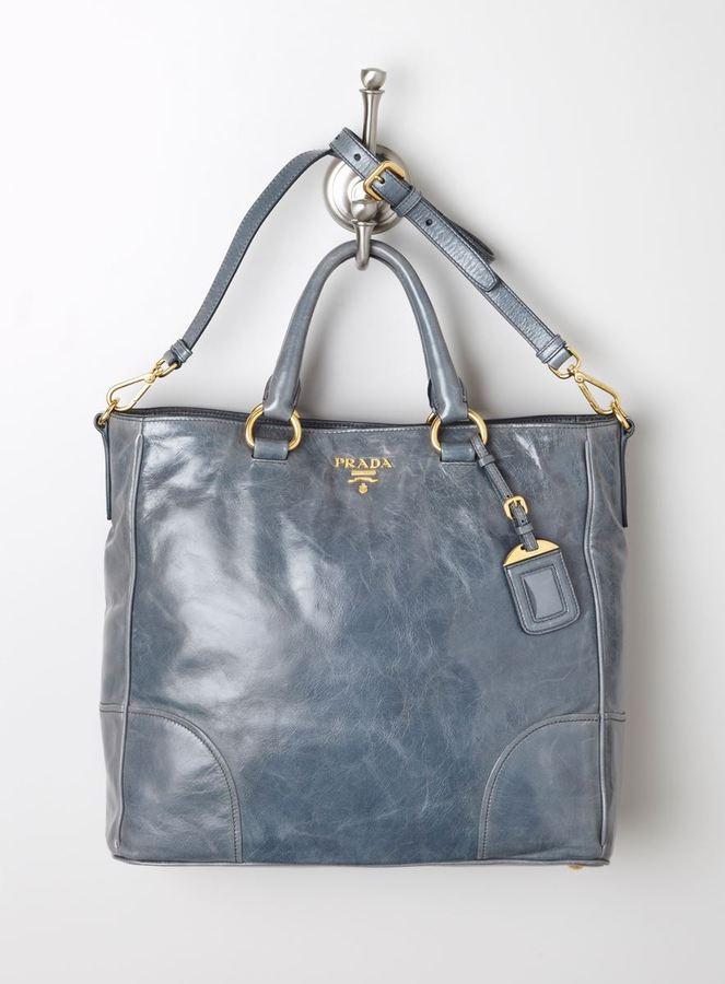 Prada Vitello Hobo Bag